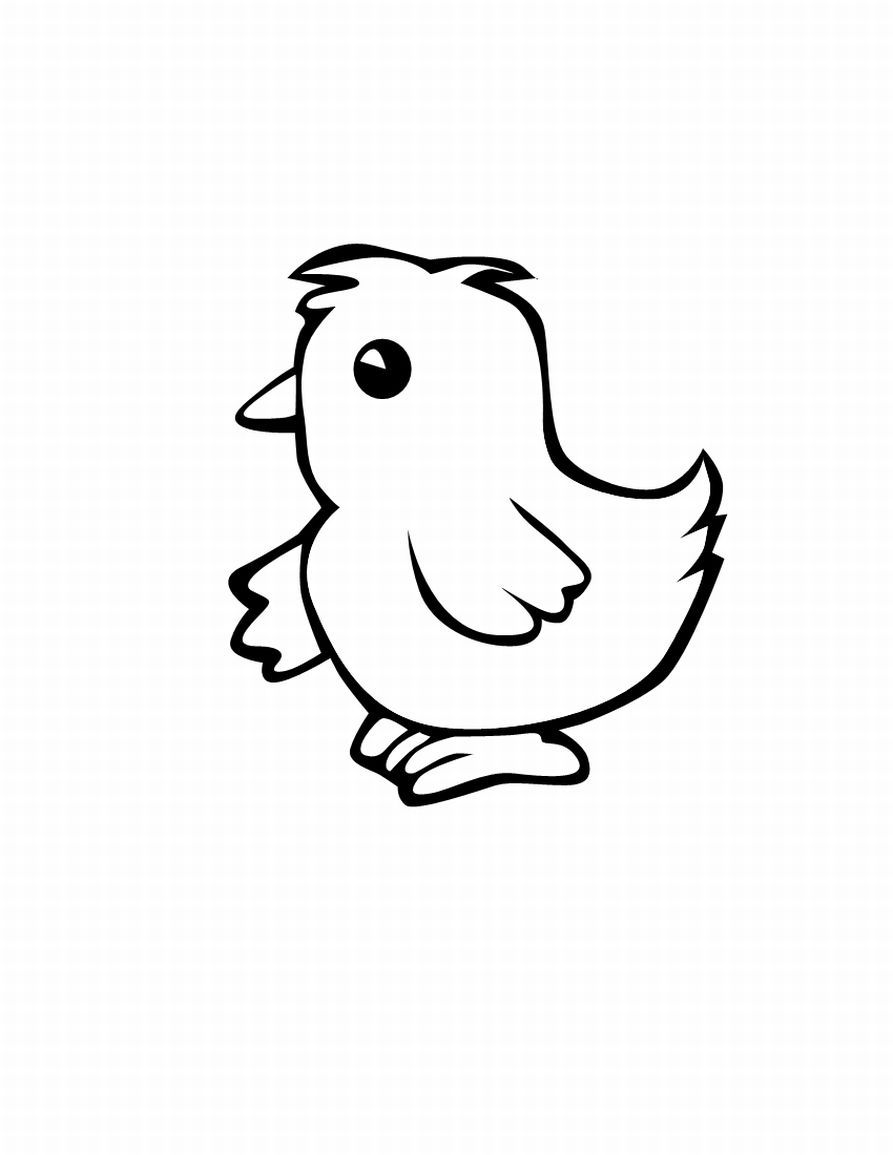 Printable chicken coloring pages coloring home for Printable chicken coloring pages