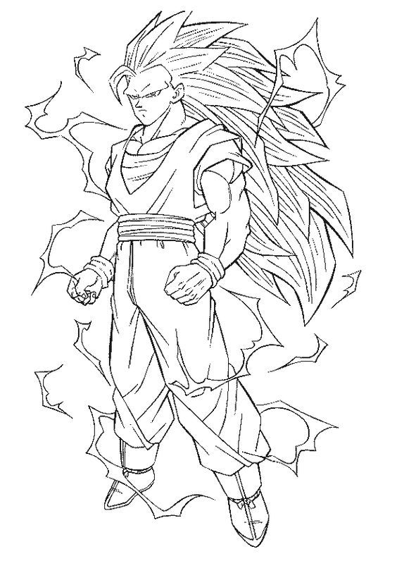 Goku Super Saiyan 10 Coloring Pages - Coloring Home