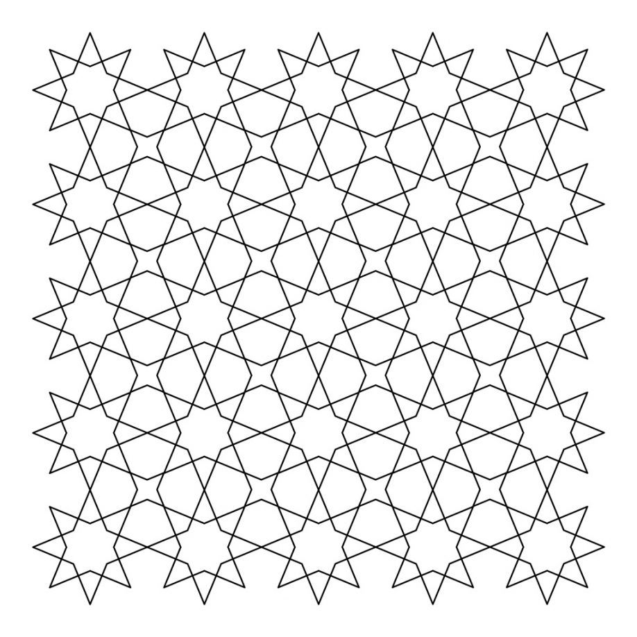 tessellations coloring pages - photo#13