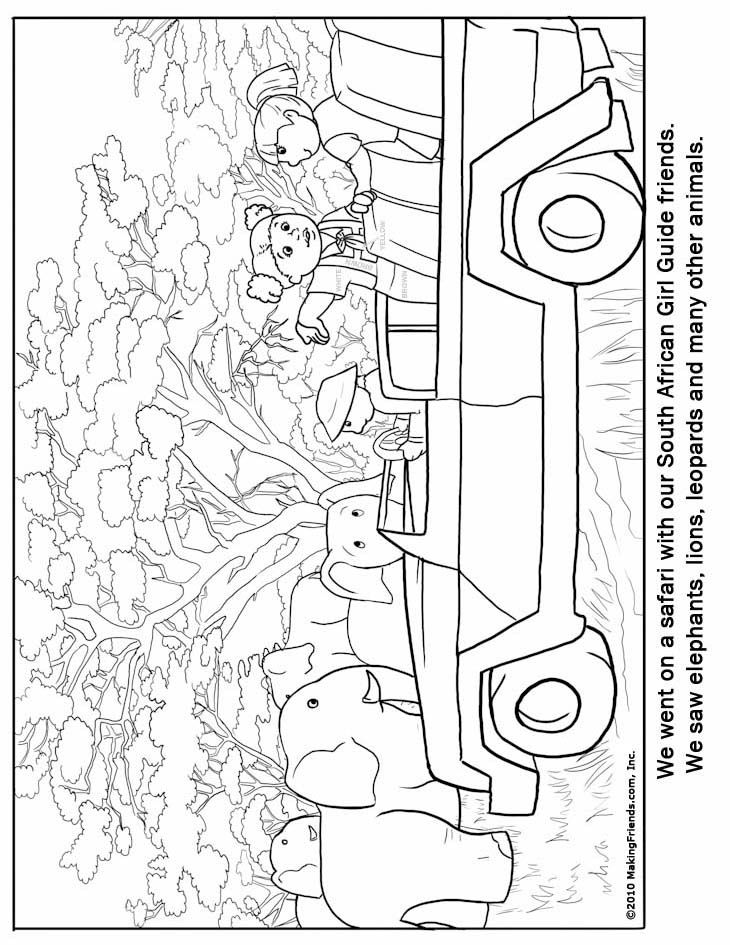 coloring pages africa - photo#25