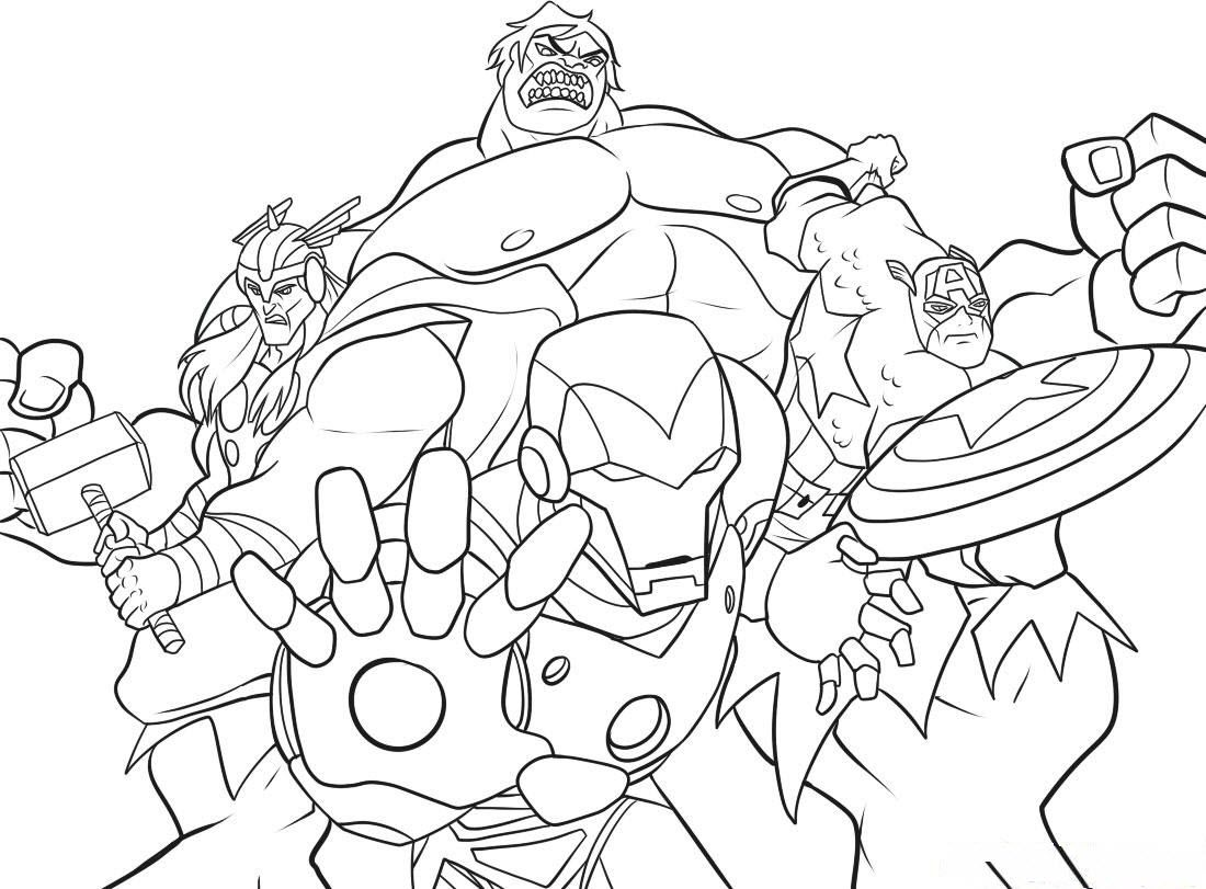 - Marvel Coloring Pages To Print - Coloring Home
