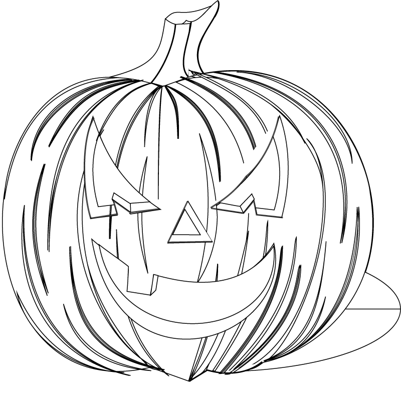 12 Pics Of Scary Halloween Coloring Book Pages Scary Halloween