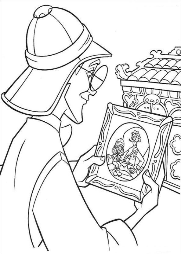 Atlantis, The Sunken City Coloring Pages - Coloring Home