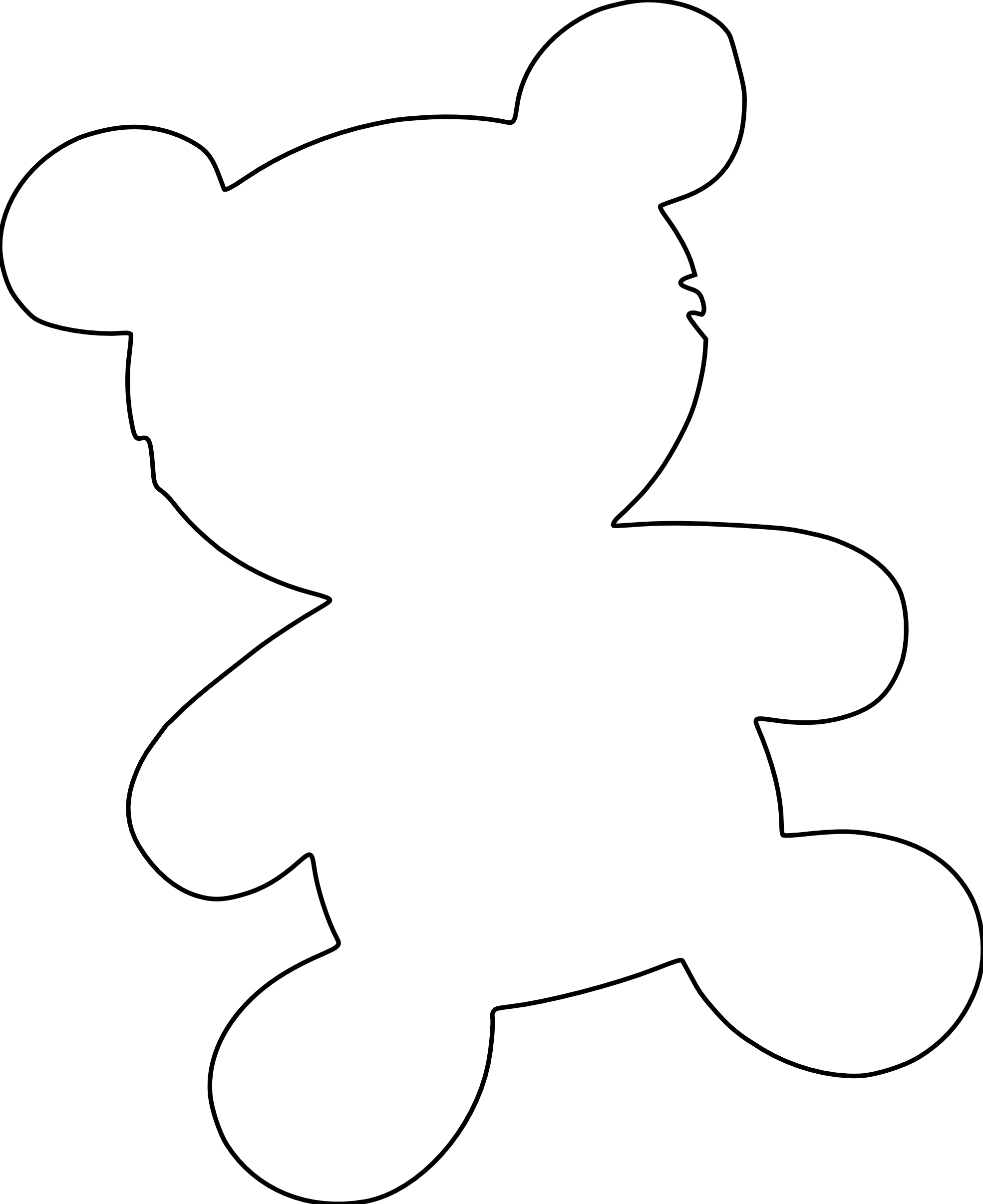 Coloring pages teddy bear printable - Teddy Bear Coloring Pages Free Free Printable Coloring Pages