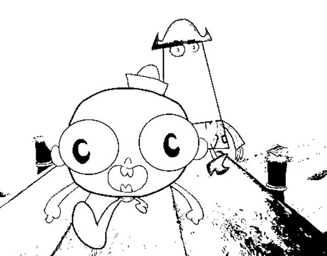 coloring pages of flapjack - photo#17