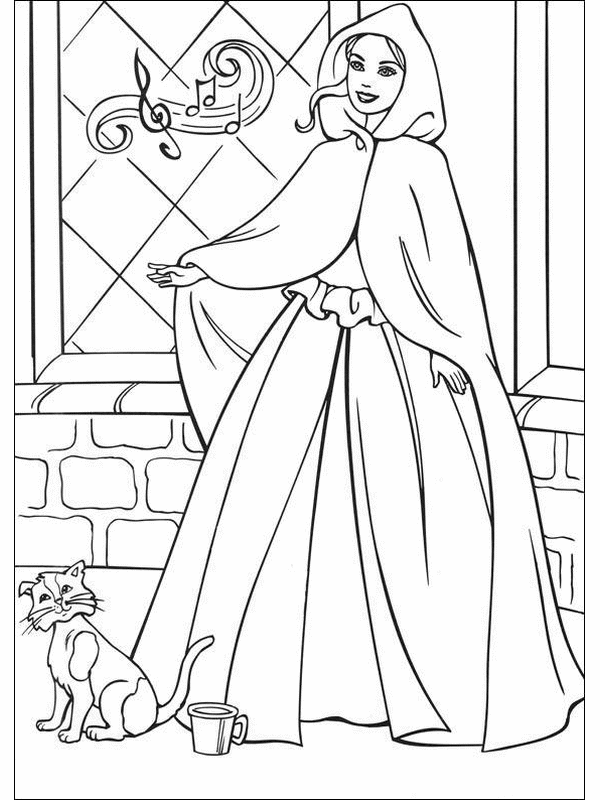 Barbie Princess Coloring Pages To Print : Barbie princess printable coloring pages home