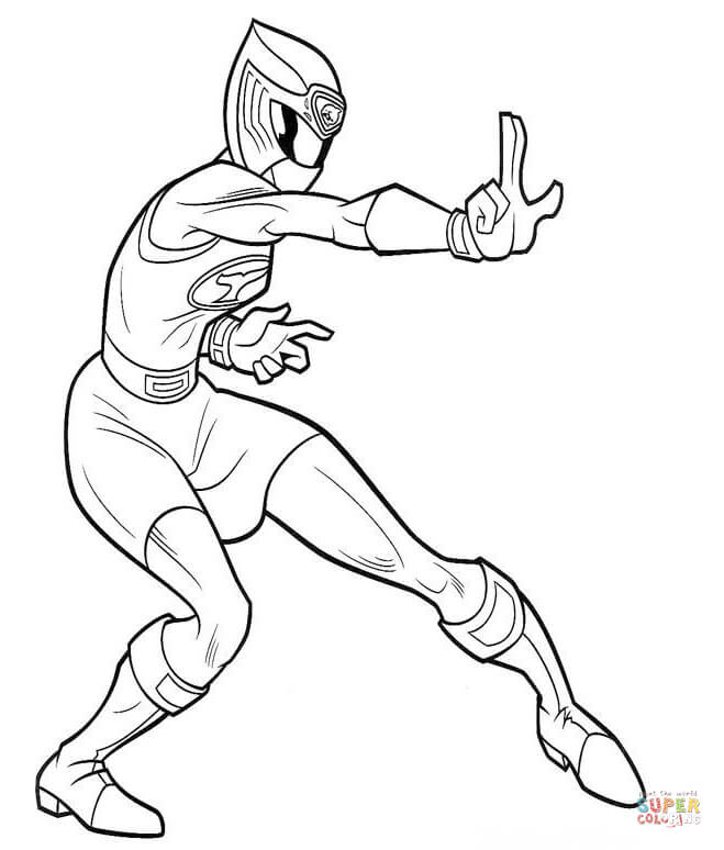 Power Rangers coloring pages | Free Coloring Pages