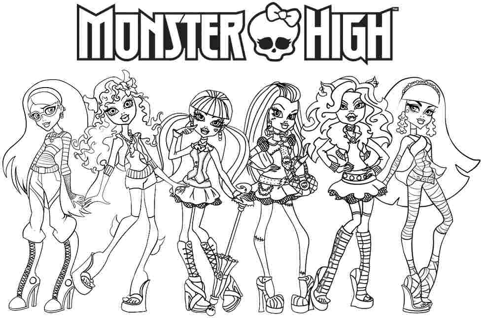 Images Of Monster High Characters