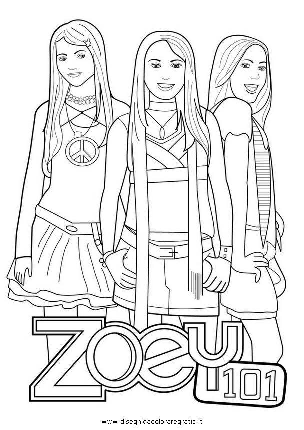 Zoey 101 Coloring Pages Az Coloring Pages Zoey 101 Coloring Pages