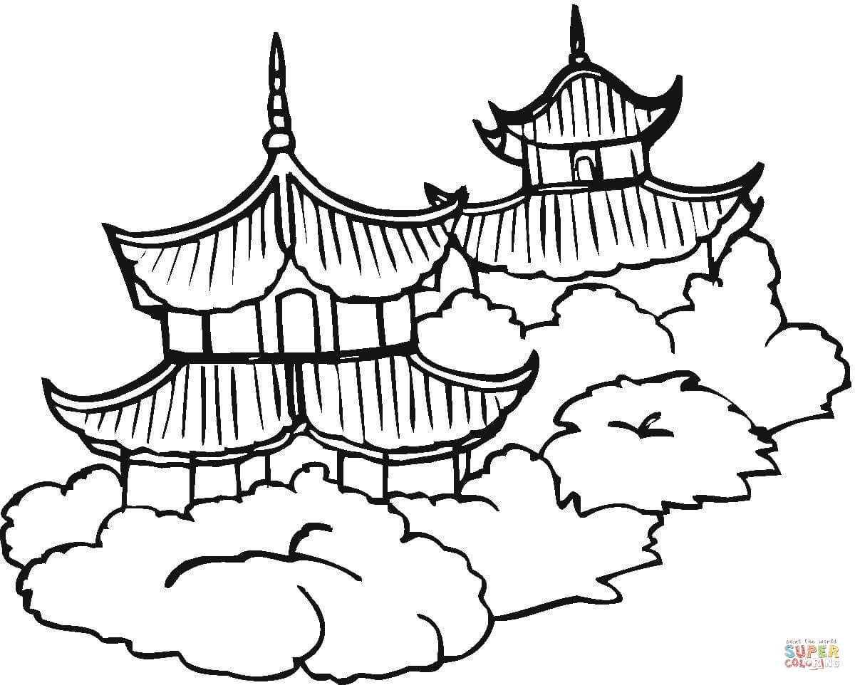 coloring pages china - photo#11
