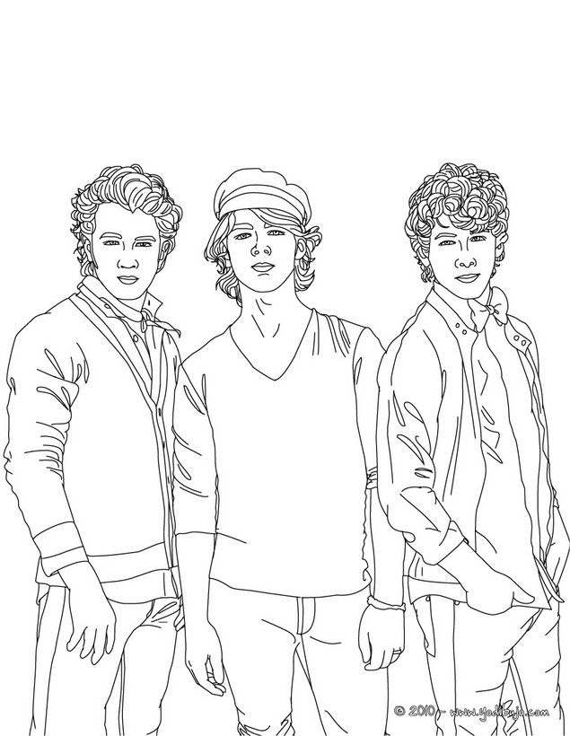 Nick jonas coloring pages coloring pages for Jonas coloring pages