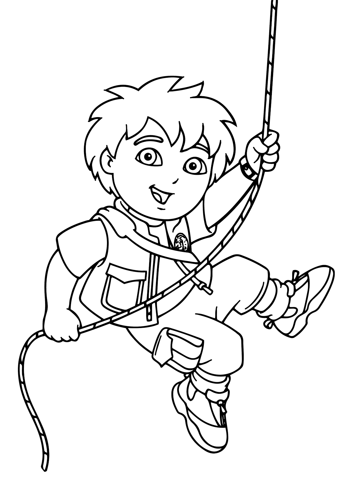coloring pages dora and diego printables | Dora Diego Coloring Pages - Coloring Home