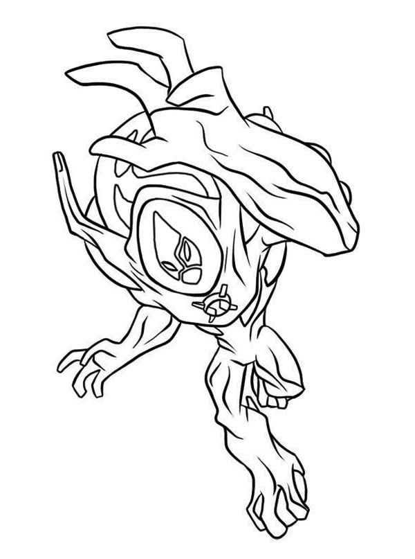 8 Pics of Ben 10 Swampfire Coloring Pages - Ben 10 Coloring Pages ...