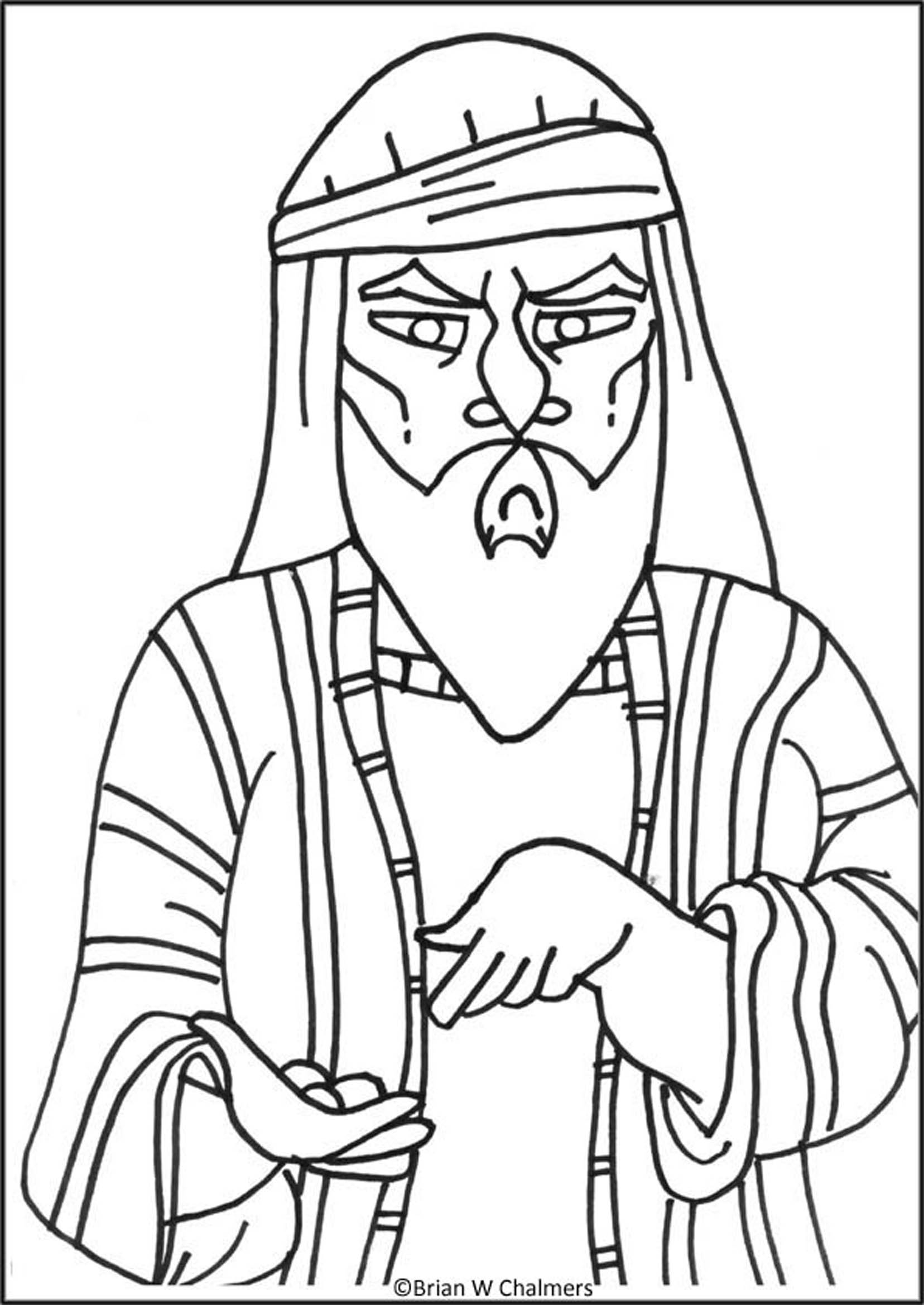 Zaccheus Coloring Pages Coloring