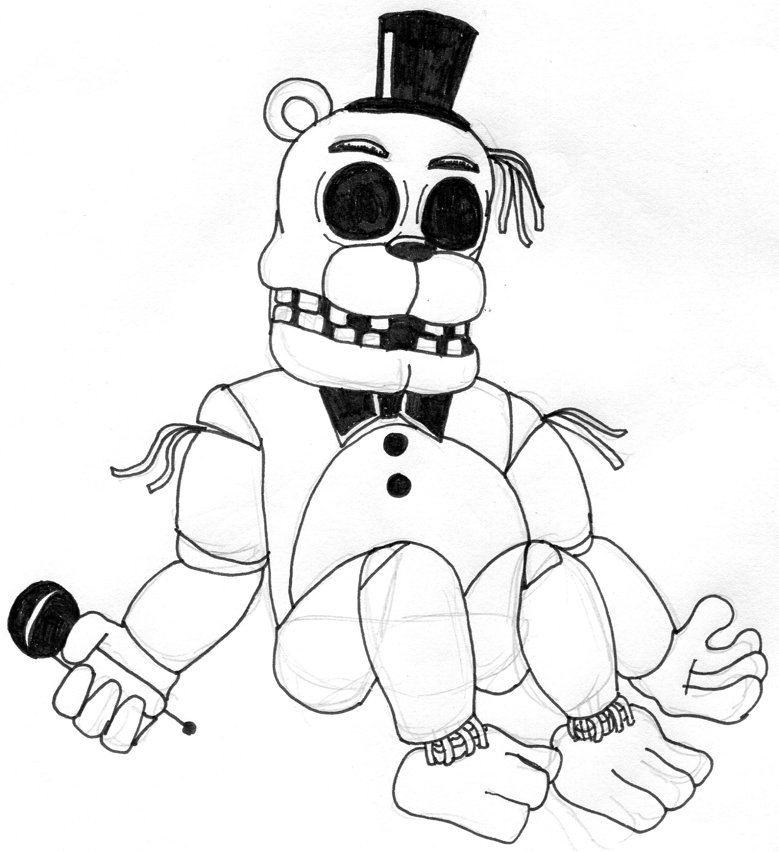 color pages ~ Five Nights At Freddy S Coloring Pages To ...