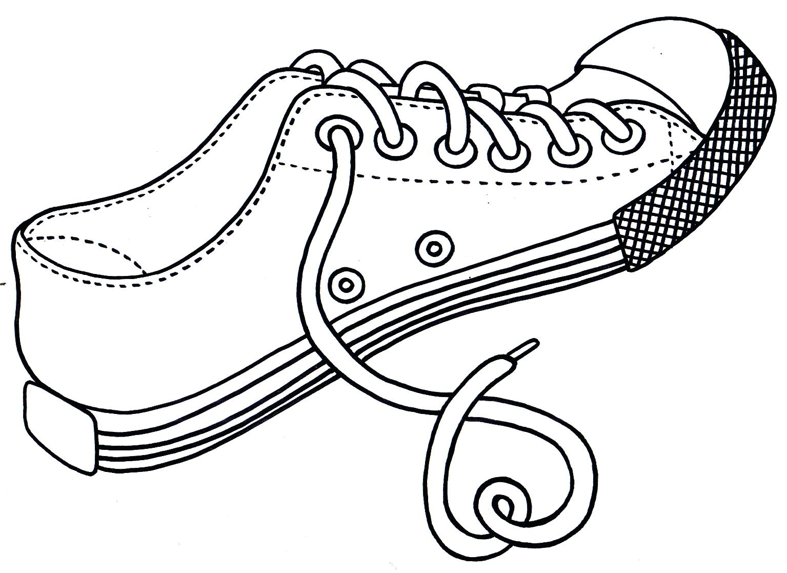 Converse Coloring Pages Coloring Home