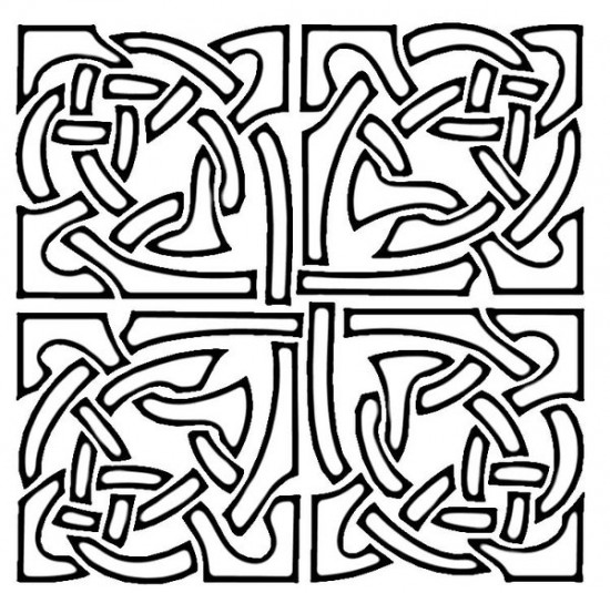 mosaic coloring pages bestofcoloringcom