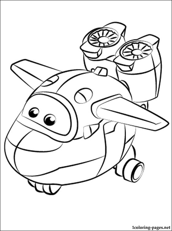 Mira Super Wings | Coloring pages
