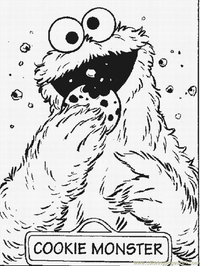 Sesame Street Coloring Pages Elmo - Coloring Home