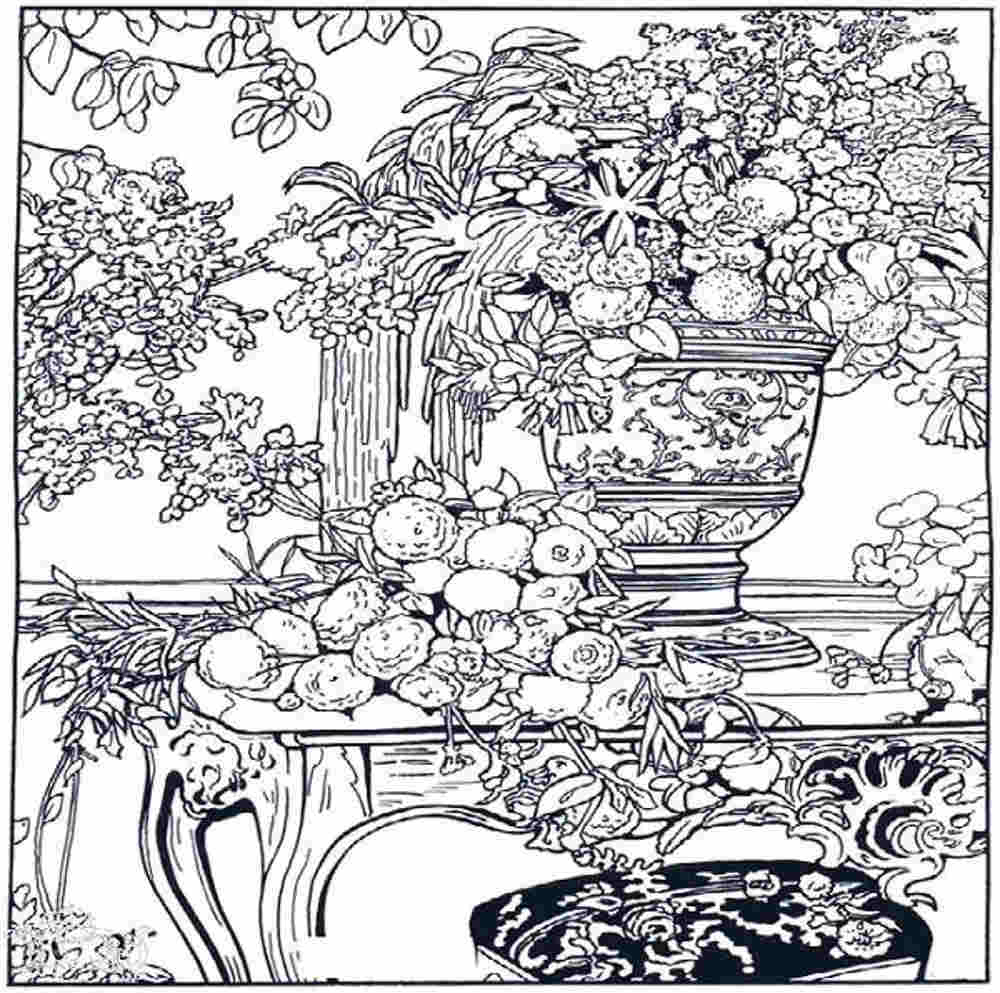 Detailed Coloring Pages Pdf : Fairy coloring pages for adults printable kids colouring