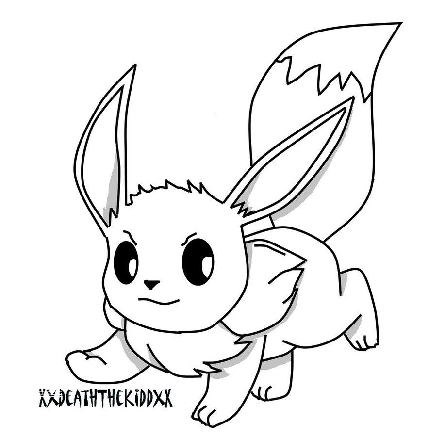 10 Pics of Eevee Coloring Pages - Pokemon Eevee Coloring Pages ...