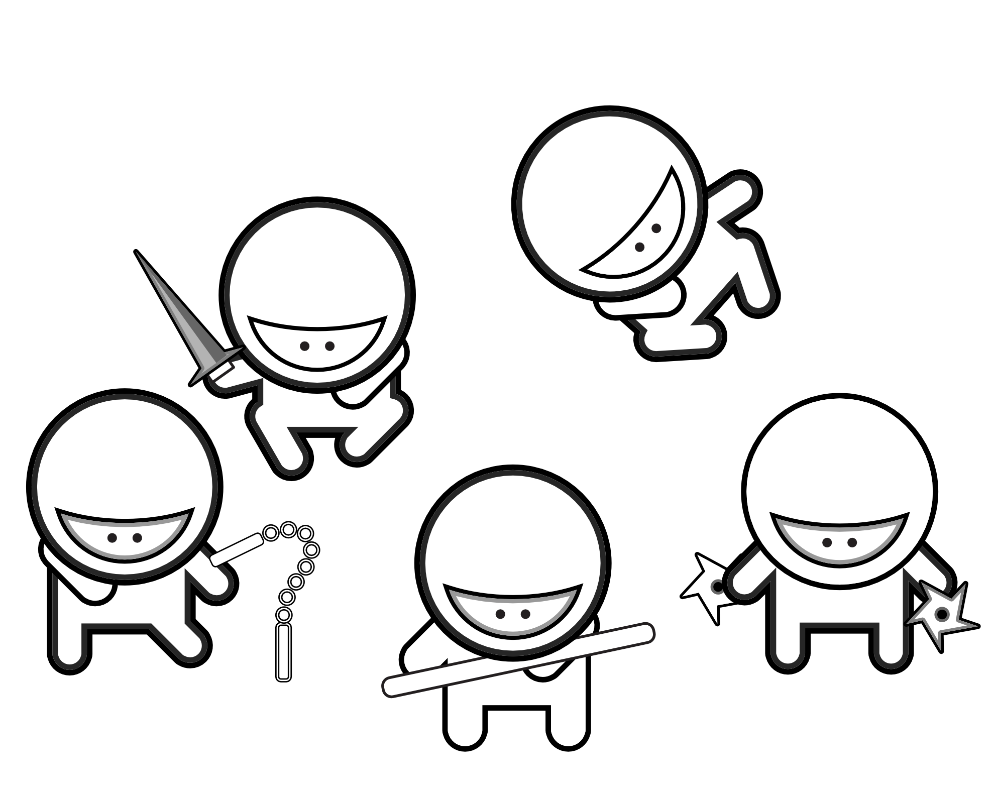 Ninja coloring pages free printable coloring home for Coloring page ninja