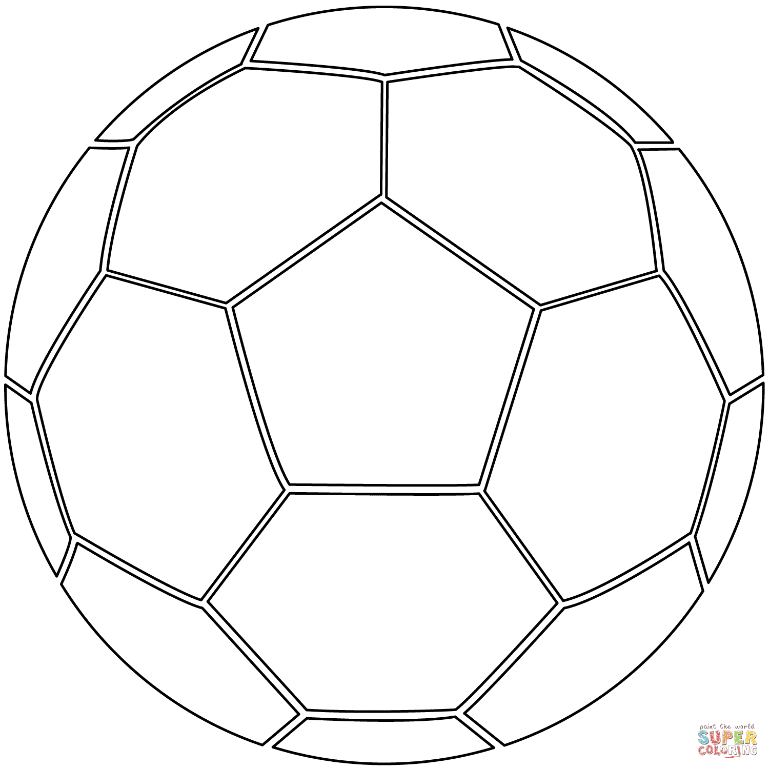 cool soccer balls coloring pages - photo#4