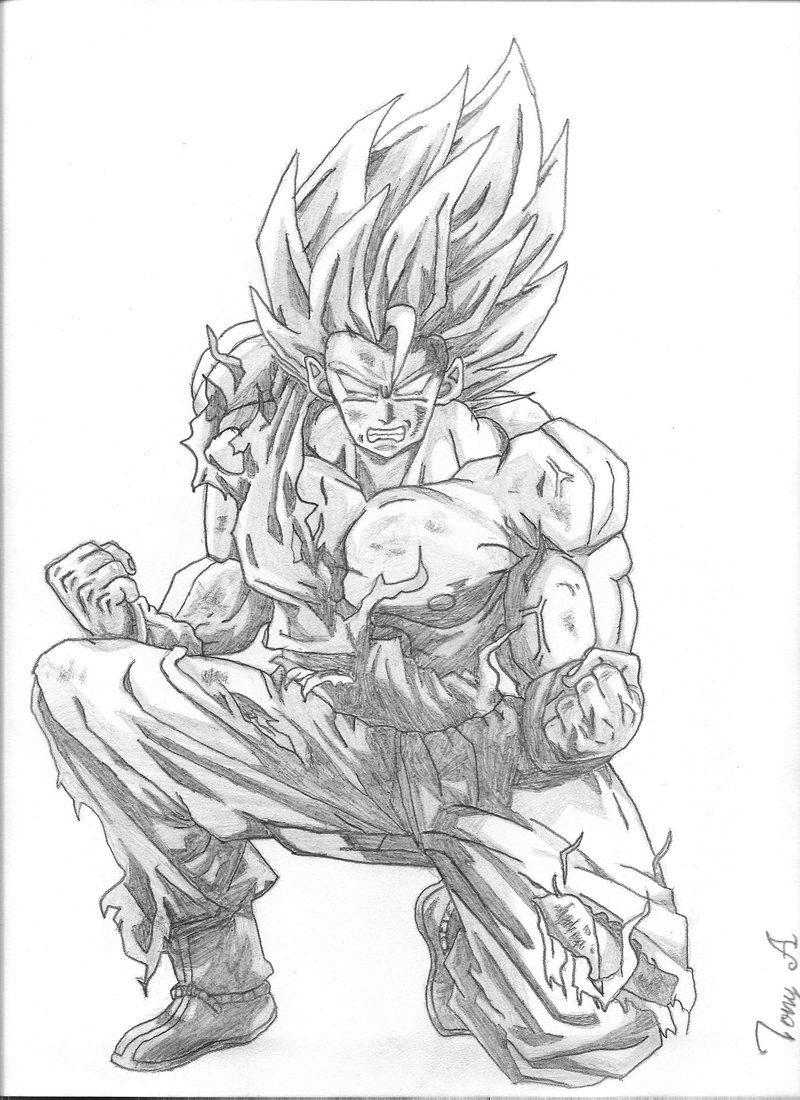 Dragon Ball Z Coloring Pages Pdf : Dragon ball z coloring pages goku super saiyan