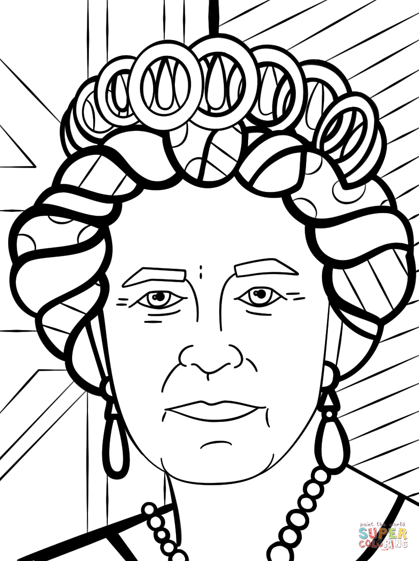 coloring pages of queens coloring home