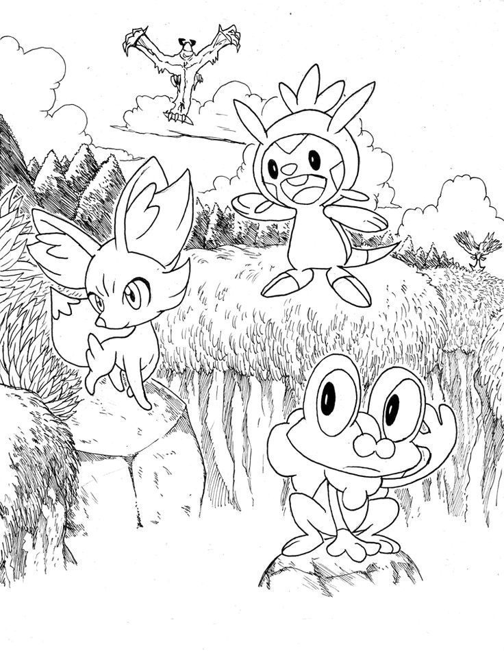All Legendary Pokemon Coloring Pages - Coloring Home