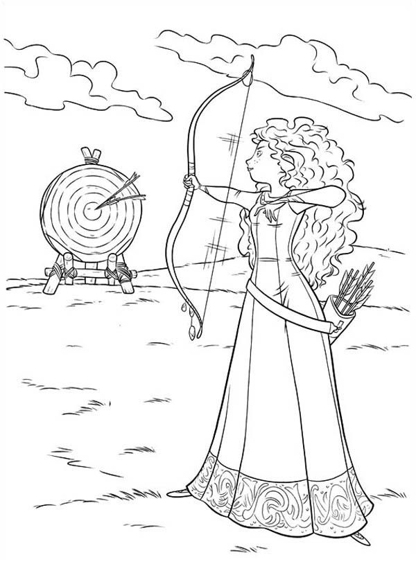 Horse From Brave Coloring Page