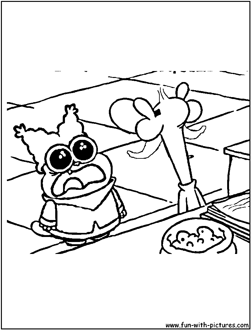 chowder coloring pages - photo#6