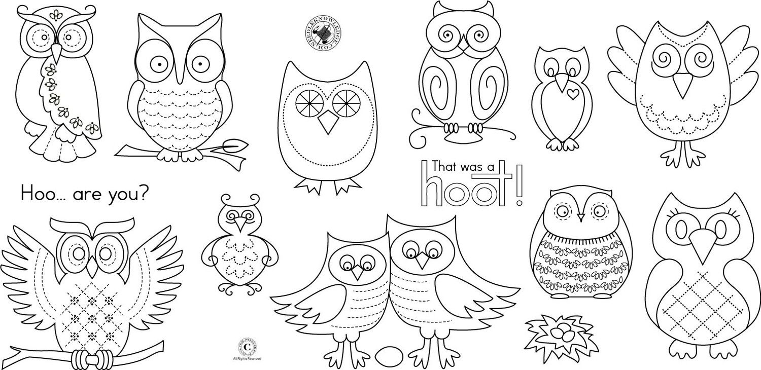 Paper Owl Template - Coloring Home