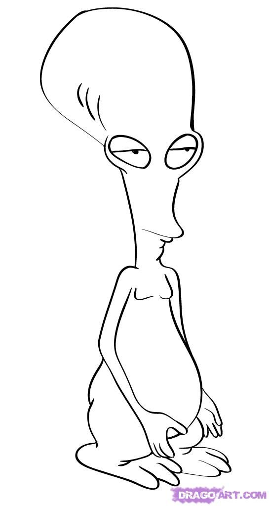 American Dad Coloring Pages Cooloringcom Coloring Home