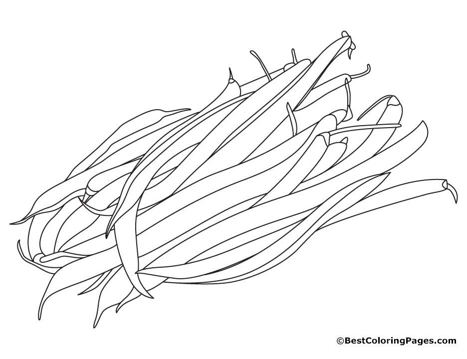beans coloring pages - photo#10