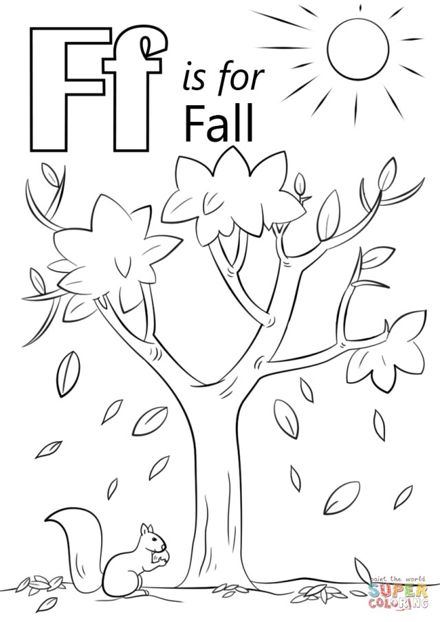 Autumn Season Coloring Pages Coloring Home