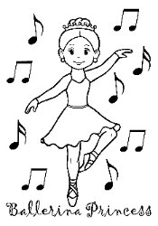 ballet coloring pages for kids and for adults