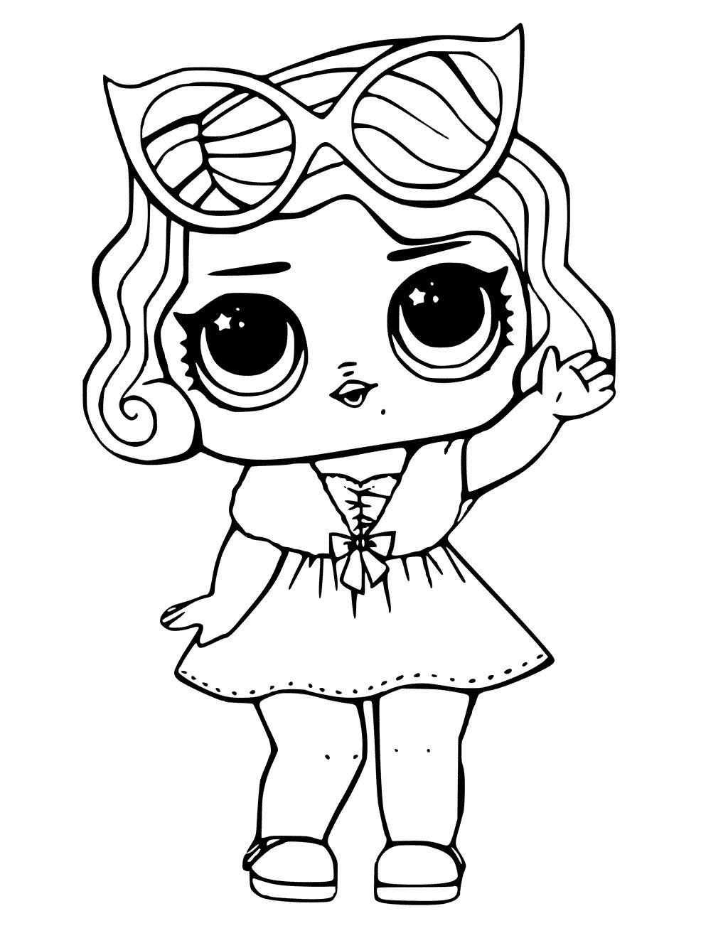 - LoL Dolls Coloring Pages - Coloring Home
