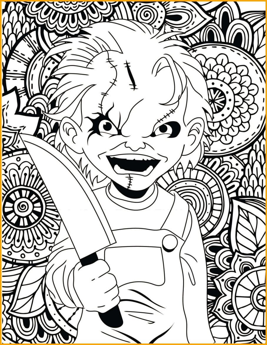 Free Printable Clown Coloring Pages For Kids | 1172x907