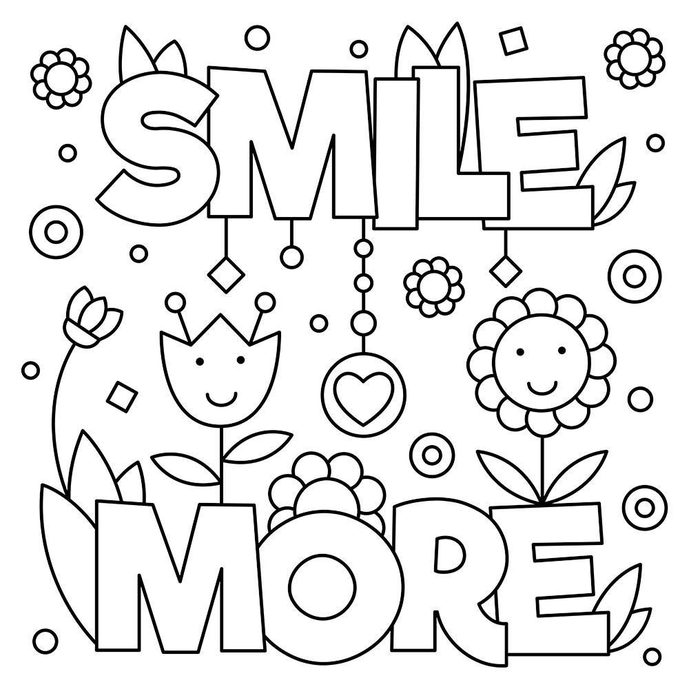- Coloring ~ Excelent Free Printable Quotes Coloring Pages