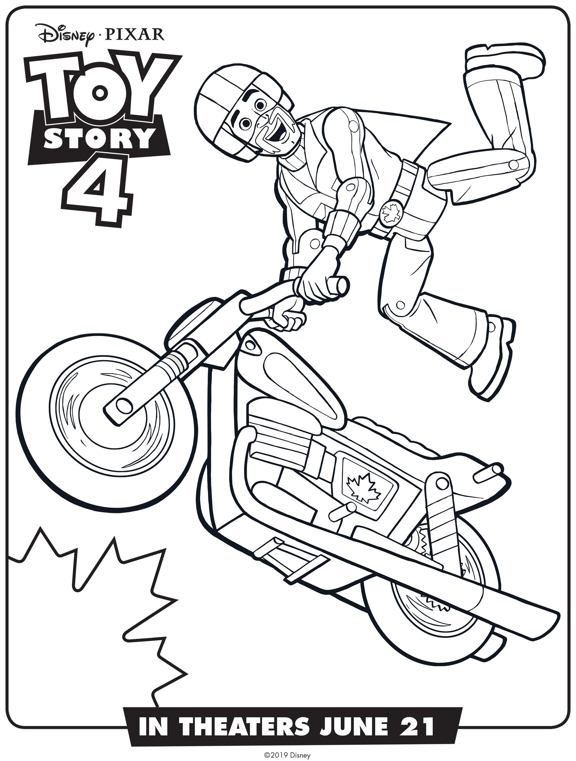 Toy Story 4 Coloring Pages - Coloring Home