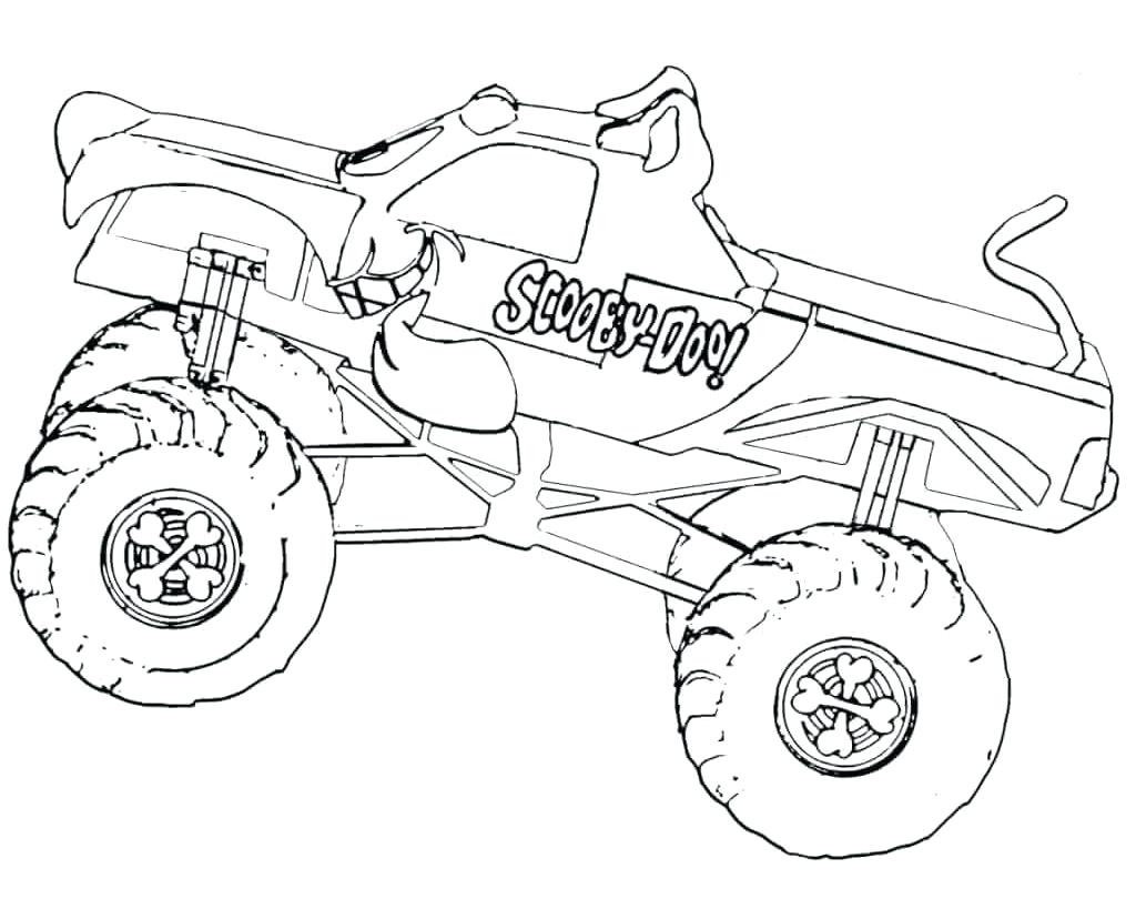 Coloring Book  Coloringges Phenomenal Monster Truck Free ...