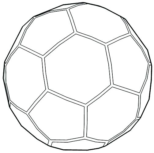- Soccerball Coloring Pages - Coloring Home