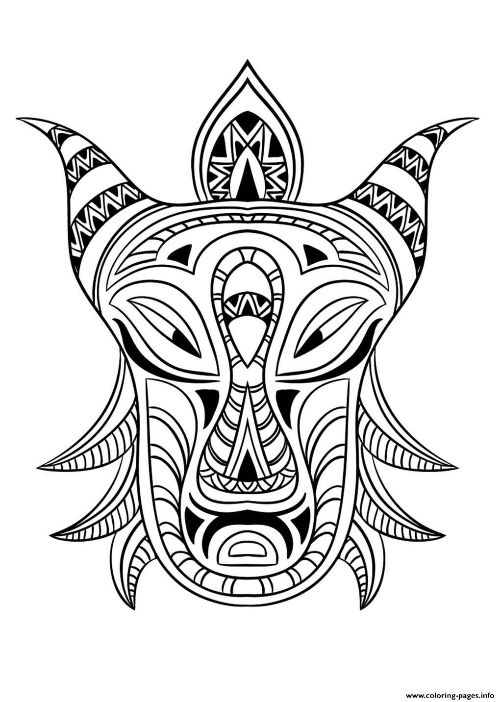 african design coloring pages - photo#19