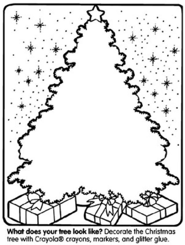 10 pics of big tree coloring page blank blank christmas tree - Blank Christmas Tree