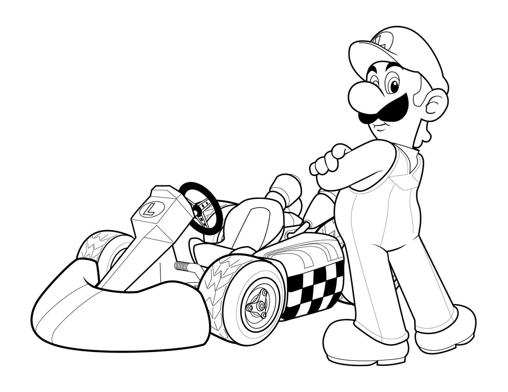 Printable Coloring Pages For Kids Cars Free - Gianfreda.net