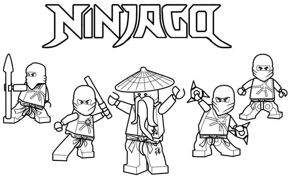 Ninjago Coloring Pages Lloyd Coloring Home