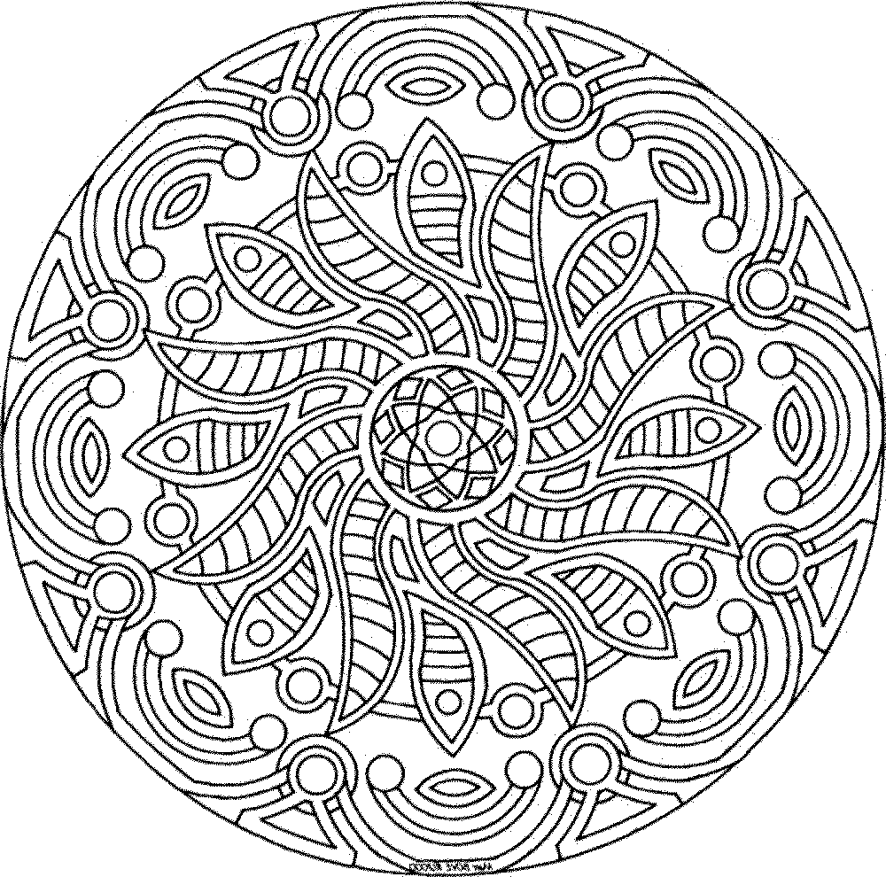 detailed coloring pages for free - photo#34