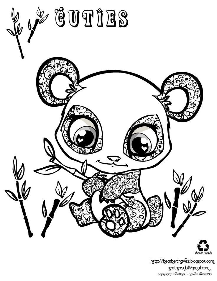 Adorable Cartoon Panda Coloring Pages - Coloring Pages For All Ages