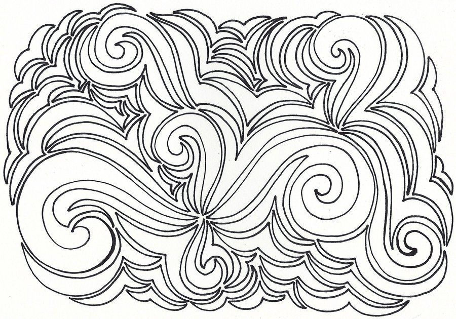 Coloring Pages Swirls Coloring Home